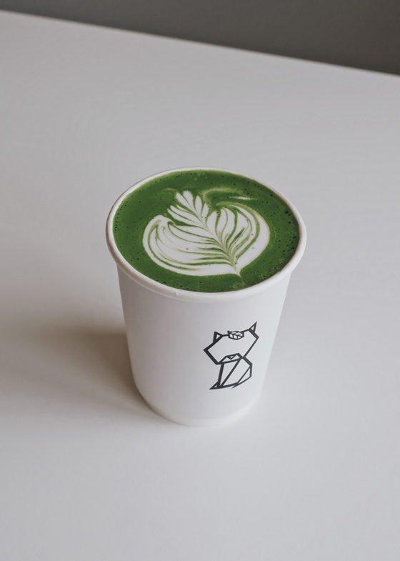 Hot Ren Matcha Latte