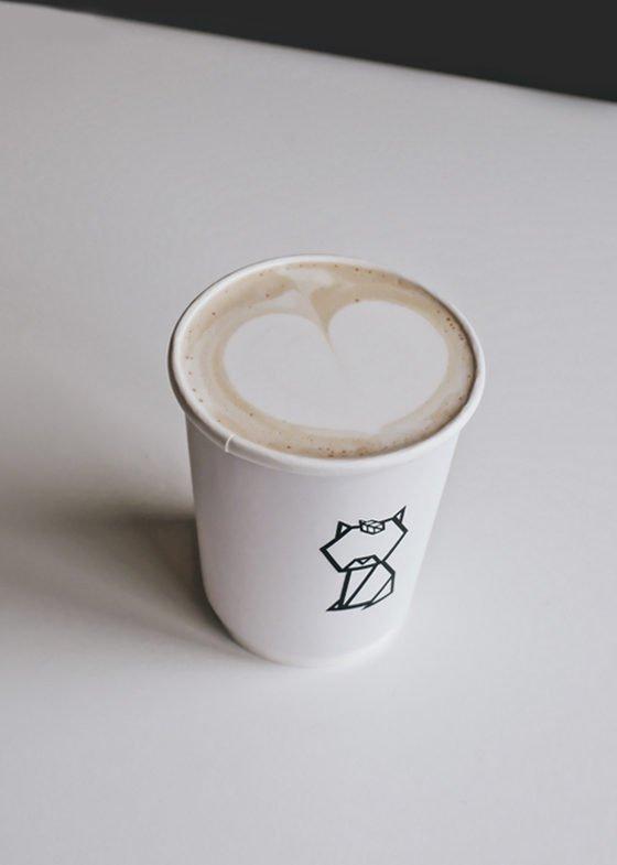 Hot Suisen Genmai Latte