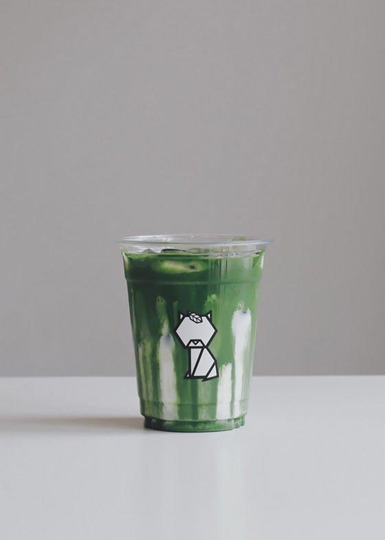Iced REN Matcha Latte