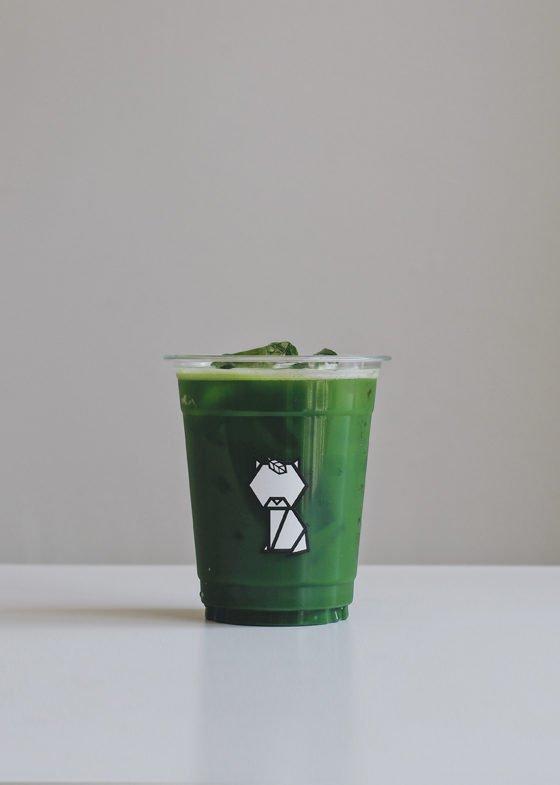 Iced KIKU Matcha Tea