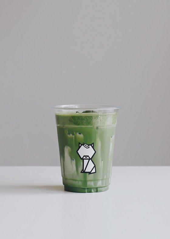 Iced YURI Matcha Latte - Niko Neko Matcha