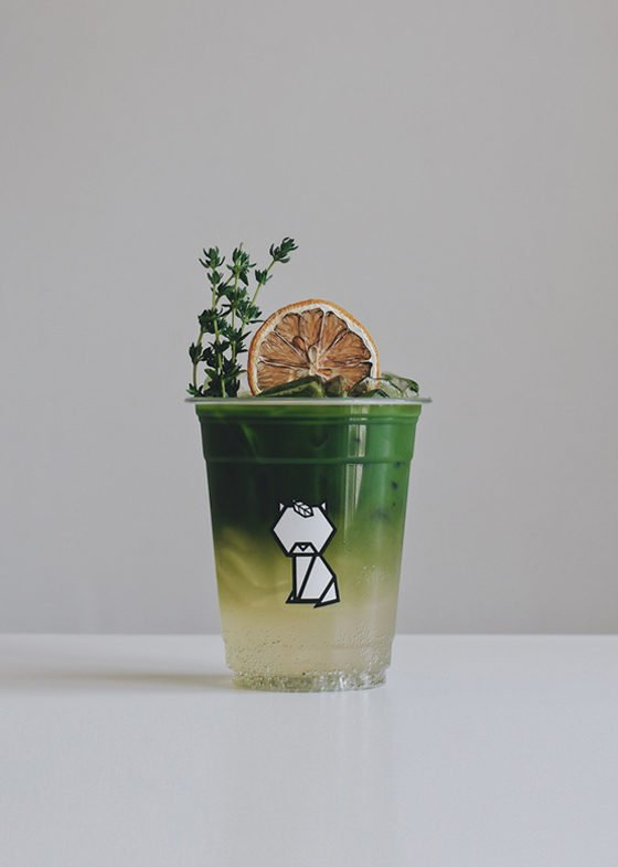 Matcha White Grape Mocktail