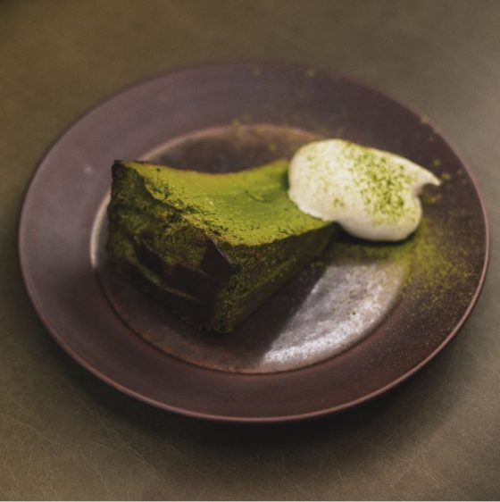 Niko Neko Matcha - Matcha Burnt Cheesecake