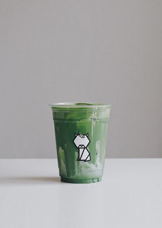 Ice KIKU Matcha Latte