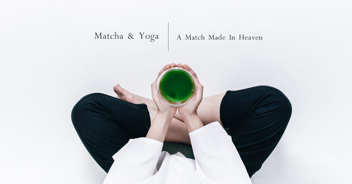 matcha and yoga