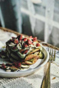 Genmaicha Flourless PancakesGenmaicha Flourless Pancakes